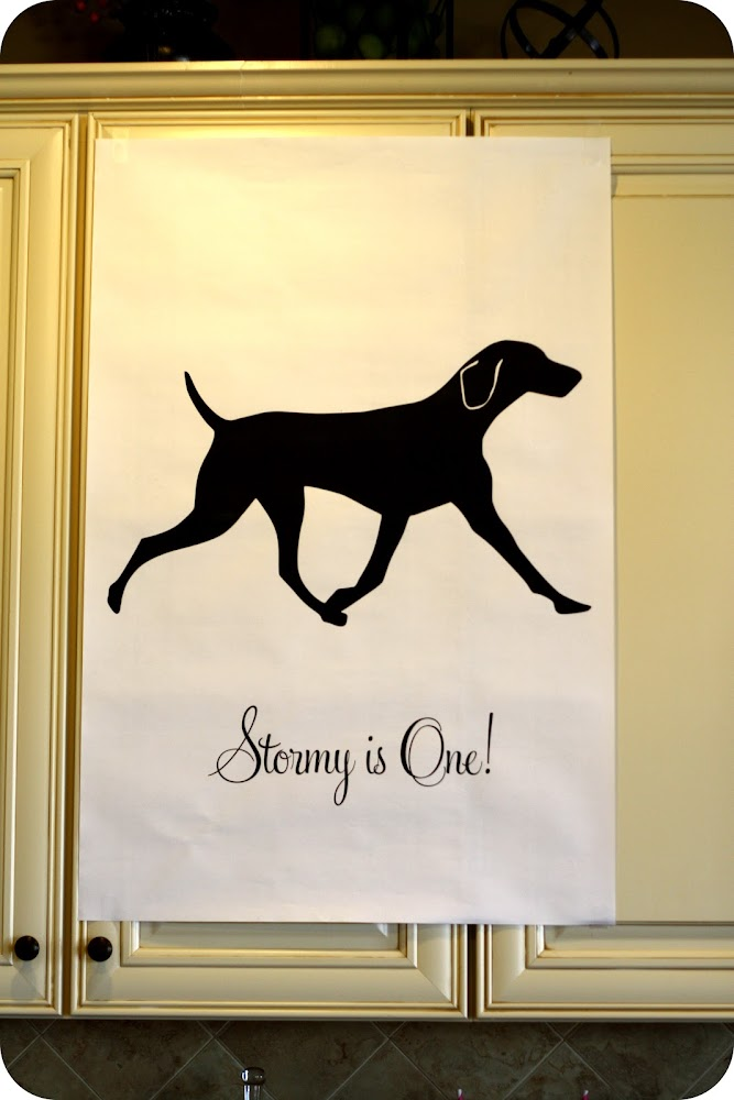 Dog Birthday Poster Engineer Print