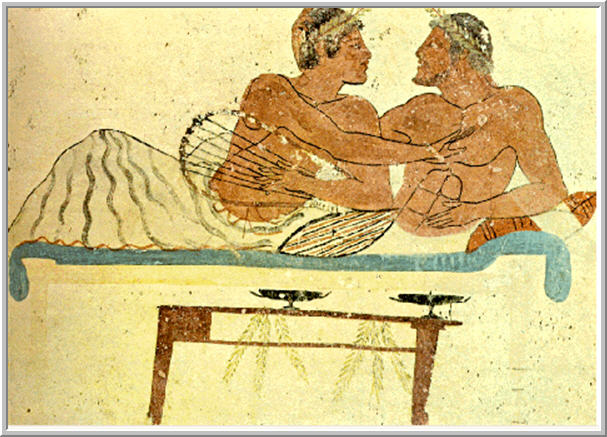 Food and drink in ancient greece and rome for Escultura mural