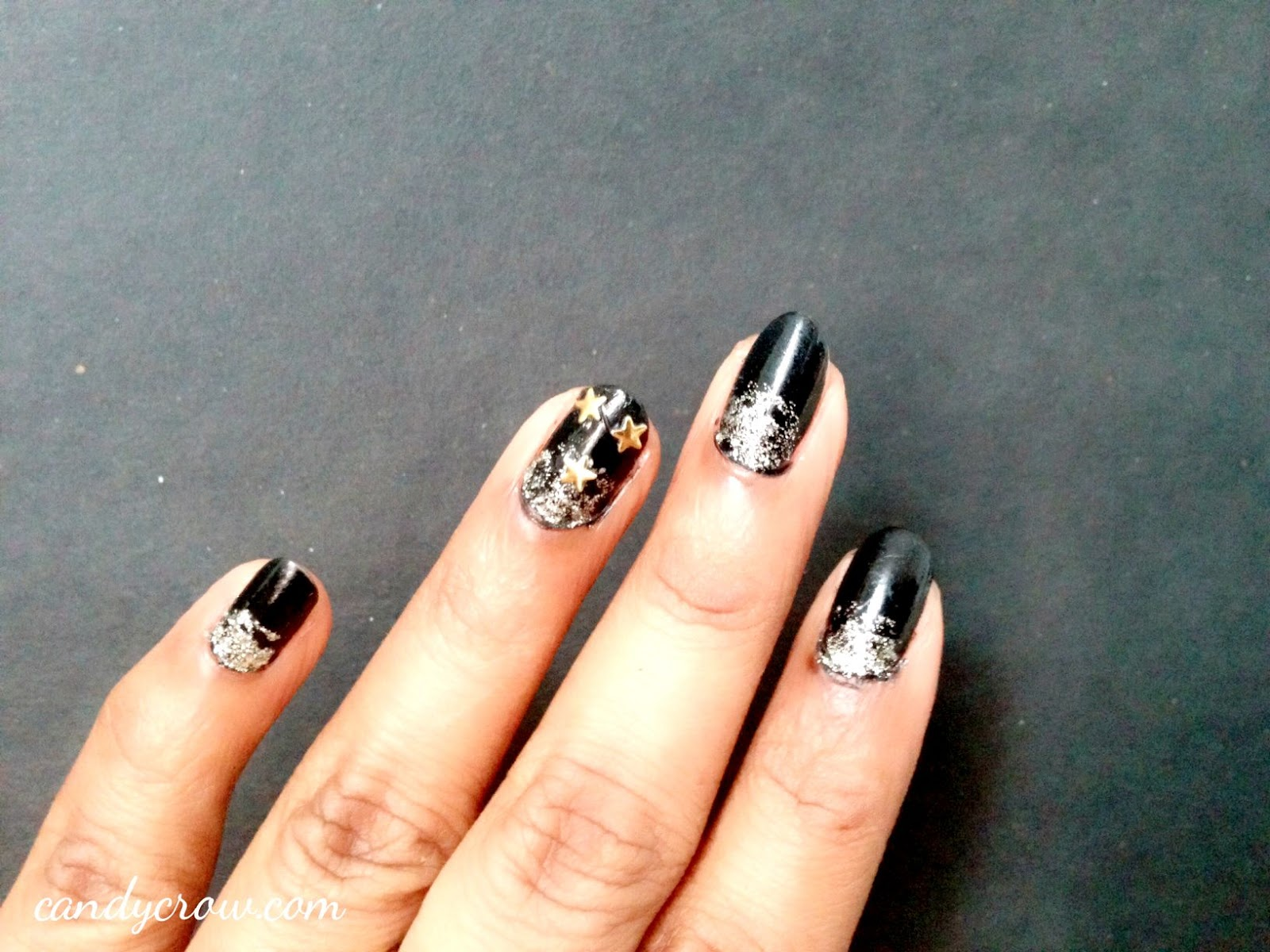 New Year Nail Art | Candy Crow | Indian Beauty and Lifestyle Blog ...
