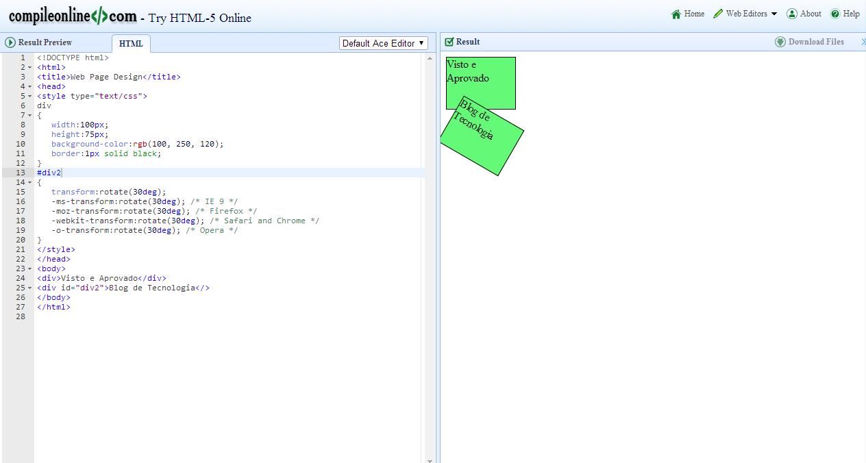 Alguns Aplicativos Online Para Voc Compilar E Executar