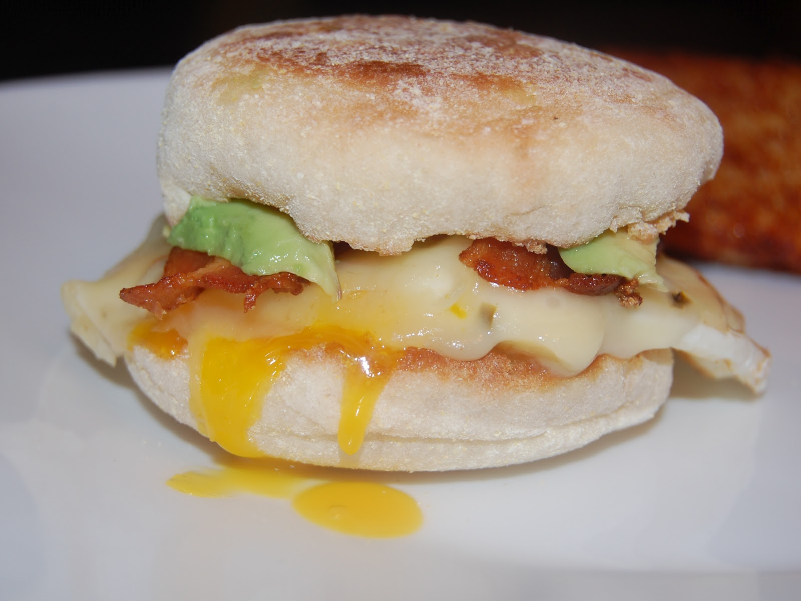 Cassie Craves: Southwestern English Muffin Breakfast Sandwiches