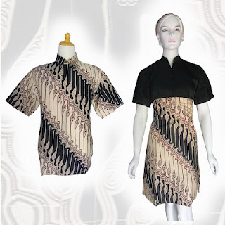 PO A40 MODEL BAJU BATIK WANITA MODERN