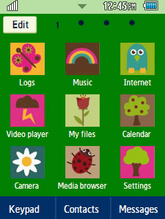Other Latest Nature Samsung Corby 2 Theme Menu