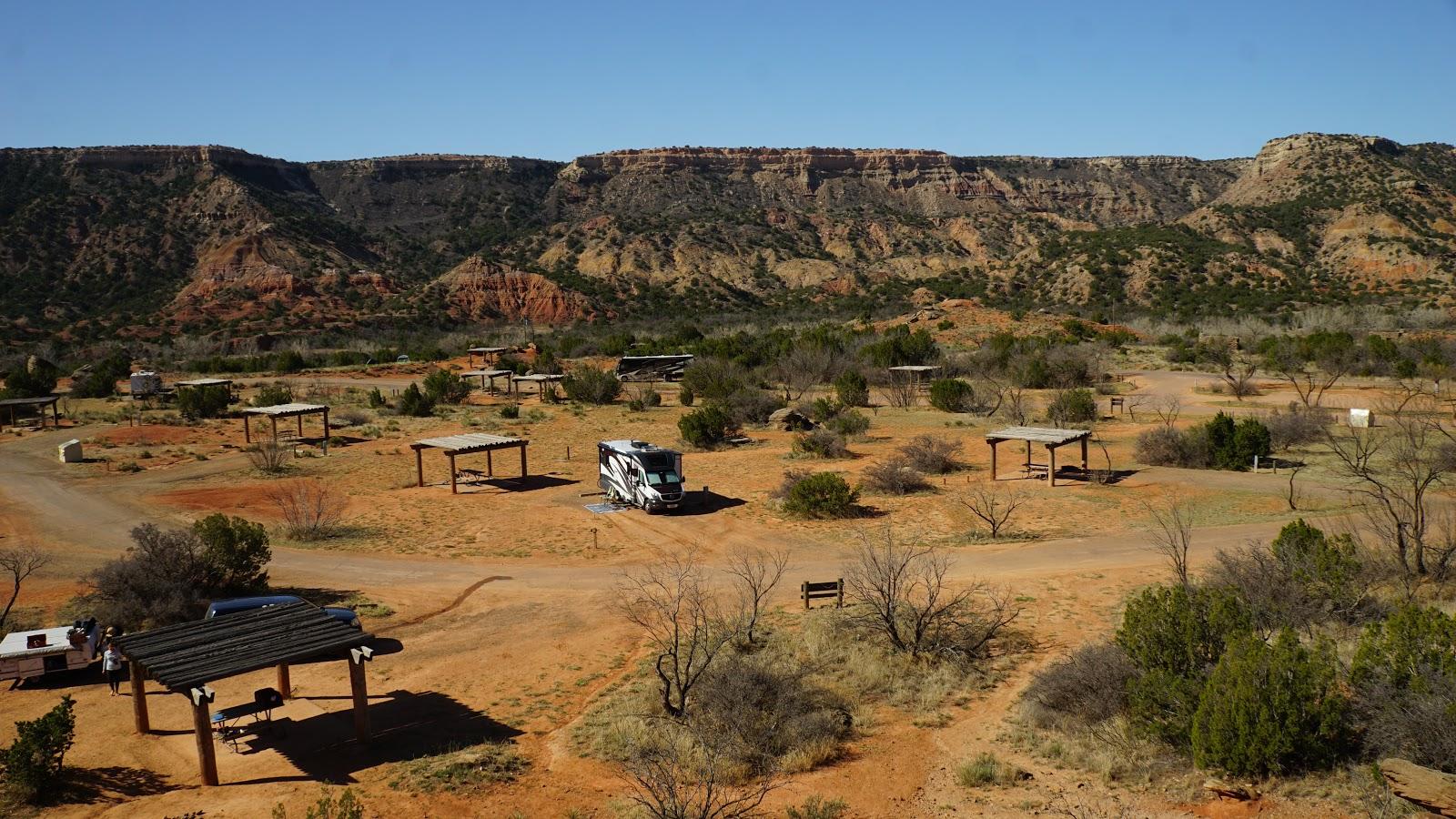 Mesquite Camping Area