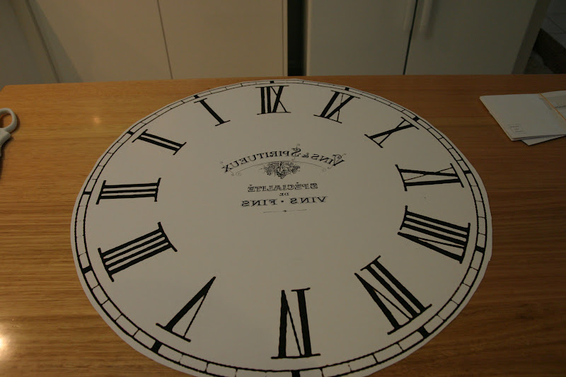 French Clock Table | The Whimsical Wife
