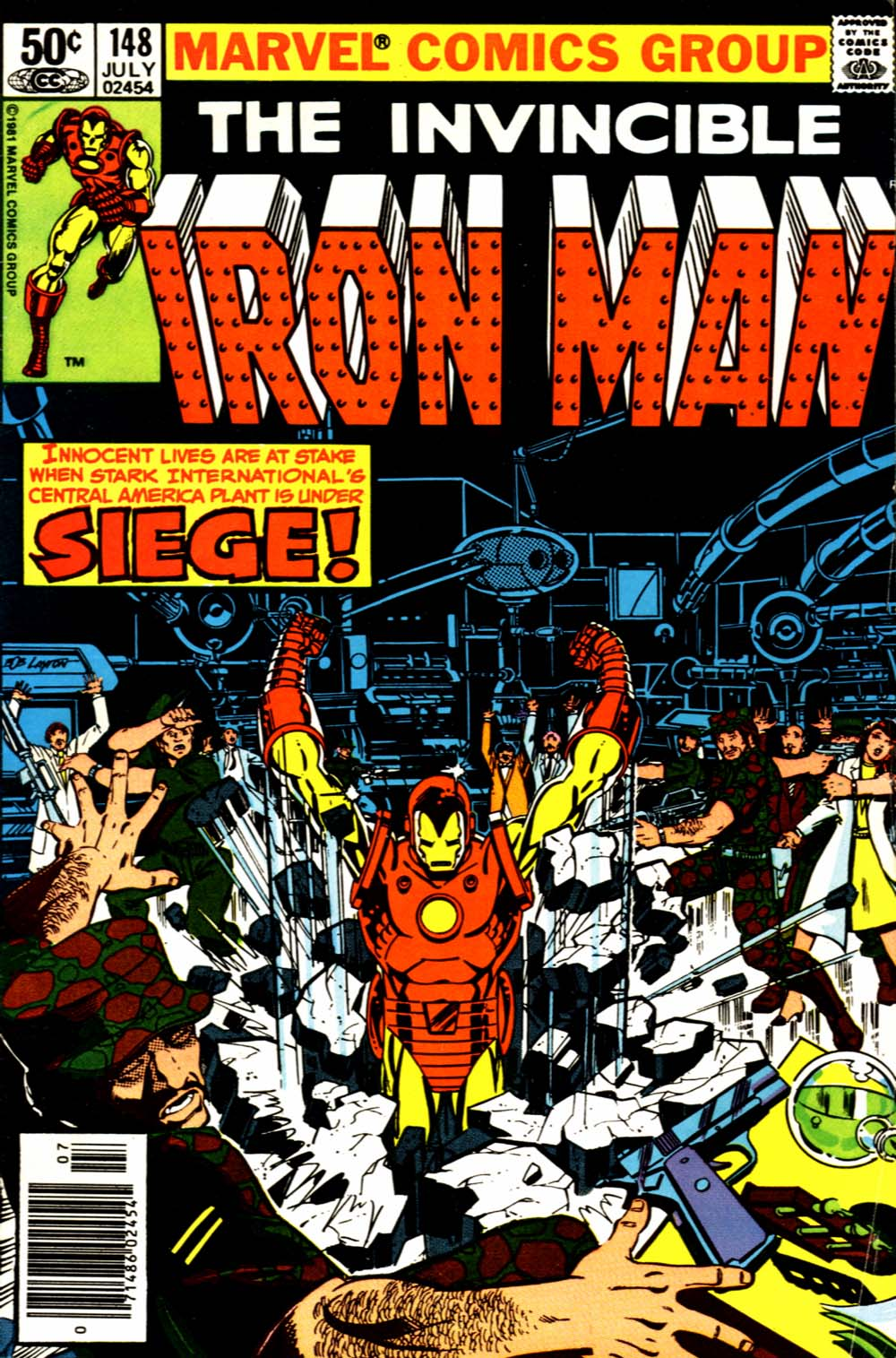 Marvel Comics of the 1980s: Iron Man 3 Week - Favourite ...