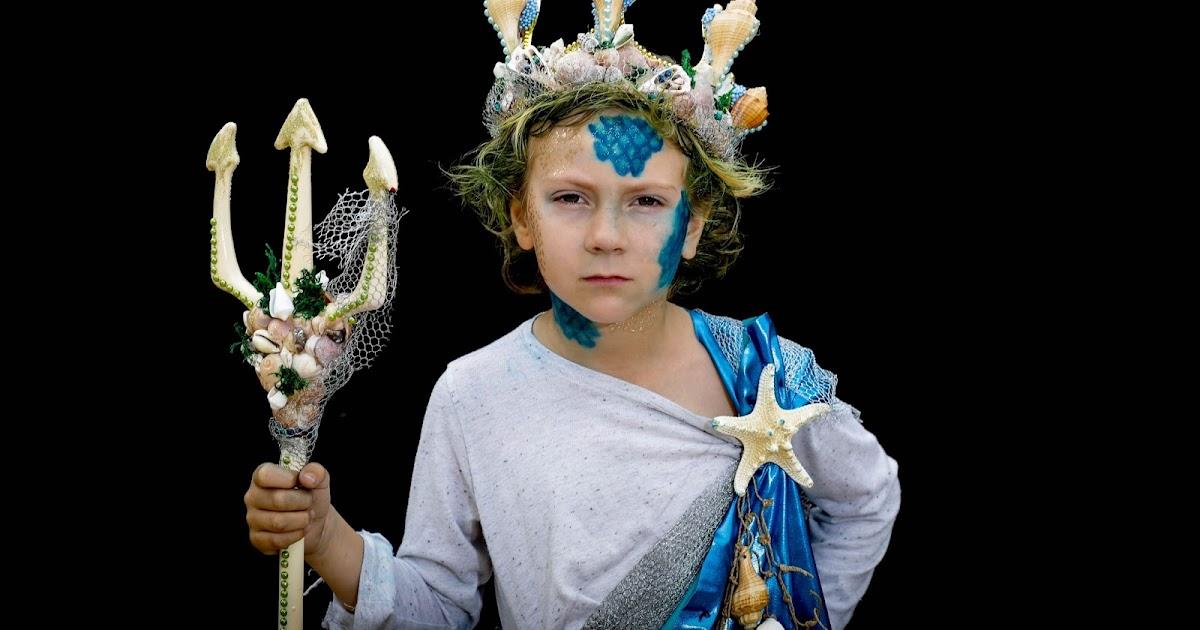 Костюм ко дню нептуна для детей своими руками 784
