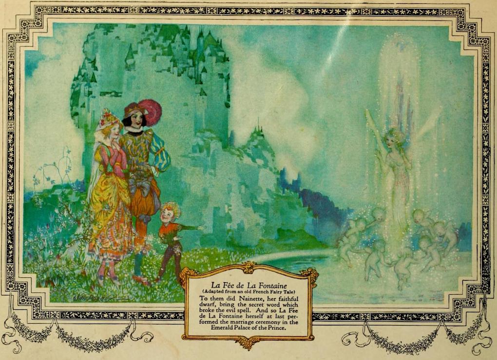 'La Fee de la Fontaine' - Willy Pogany