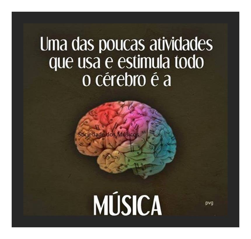 Música estimula todo o Cérebro