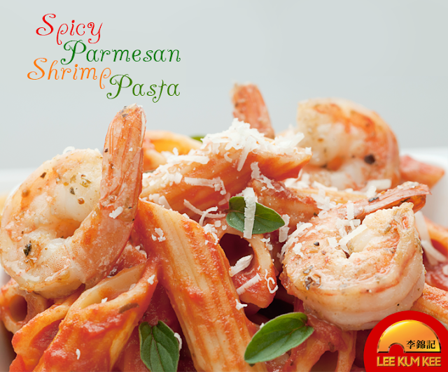 Spicy Parmesan Shrimp Pasta Recipe