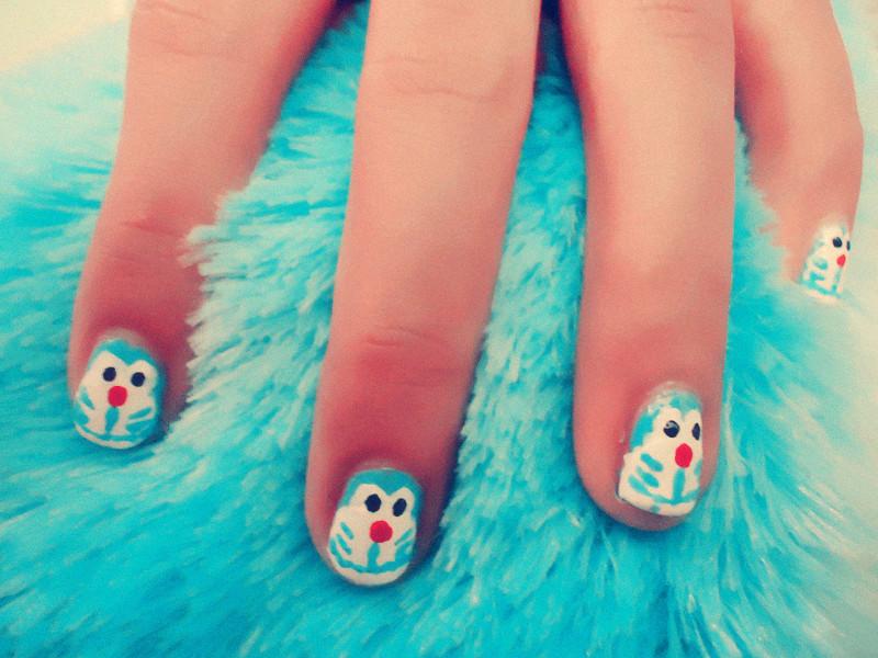 Ccs Nails Emis Doraemon Nails