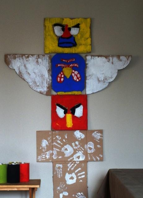 La felice stagione febbraio 2013 - Totem palo modelli per bambini ...