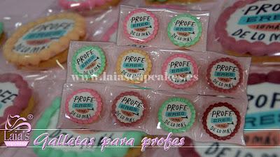 Galletas decoradas fondant impresión comestible Laia's Cupcakes Puerto Sagunto