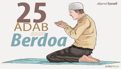 25 Adab dalam Berdoa