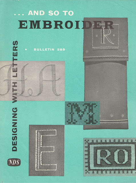 "Needlework Development leaflet ""Bulletin 28B"""