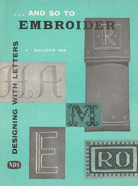 "Needlework Development leaflet ""Bulletin 28B"""