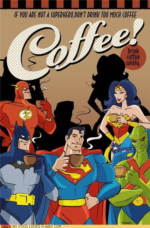 Superheroes absolutely fuel up for caped crusades
