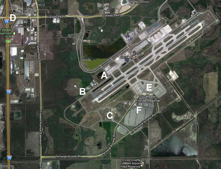 Spotters Guide to Southwest Florida International Airport RSW
