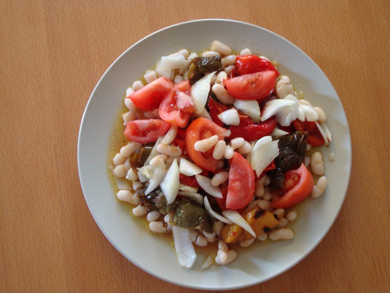 Cuisine grecque miammm salade de haricots for Cuisine grecque