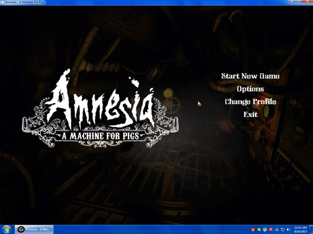 Amnesia A Machine for Pigs PC