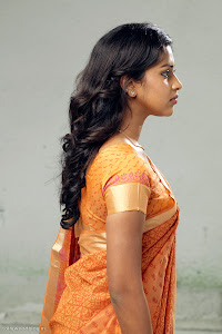 Amala Paul latest new cute looking tradition saree photos gallery pictures