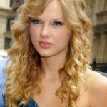 Taylor Swift hairstyles - Straight, Wavy, Curly