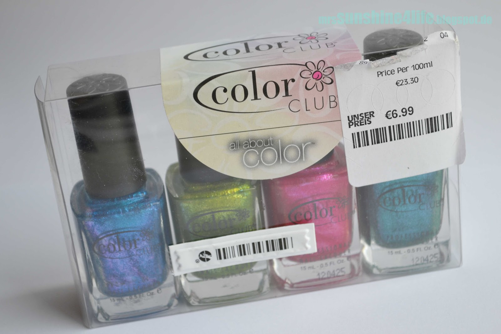 sunshine4life: [Swatches] Color Club \