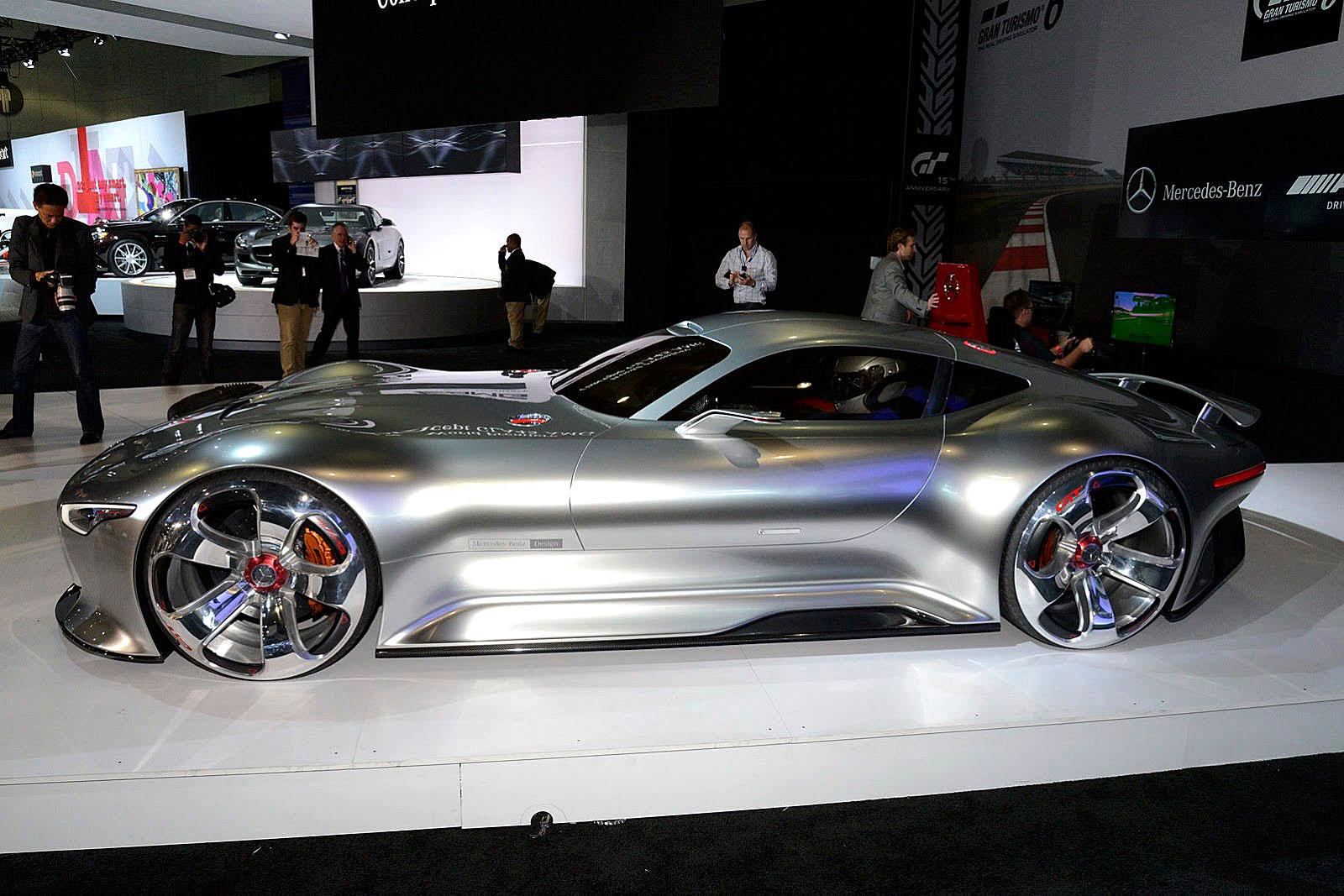 Jake 39 s car world mercedes benz amg vision concept for Mercedes benz car show