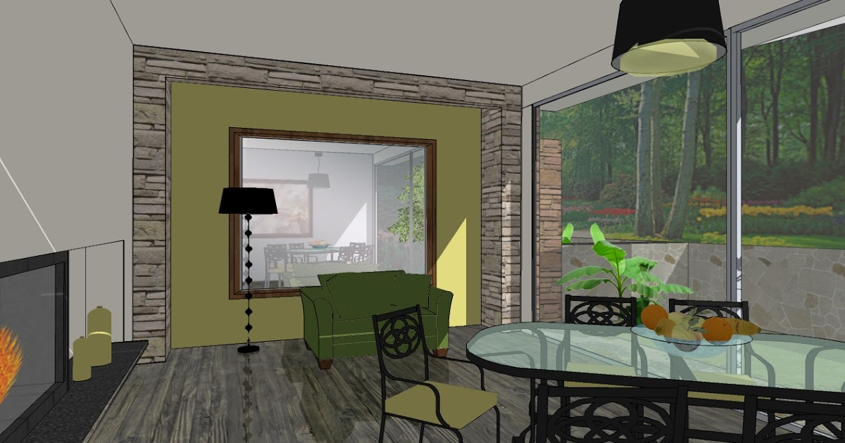 Sketchup For Interior Design Mirrors And Reflections In Sketchup