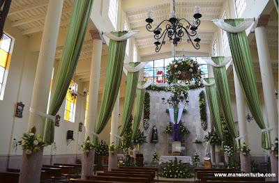 Templo de la Cruz Verde en Pátzcuaro
