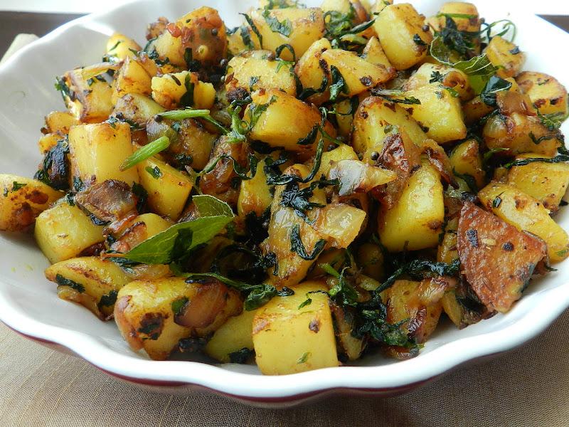 Fenugreek Seeds With Potatoes Recipe — Dishmaps