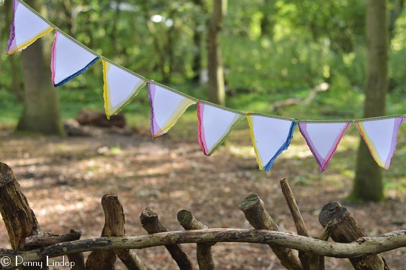For inexpensive quirky bunting have a go at making this, by recycling some unwanted greeting cards. We show you how
