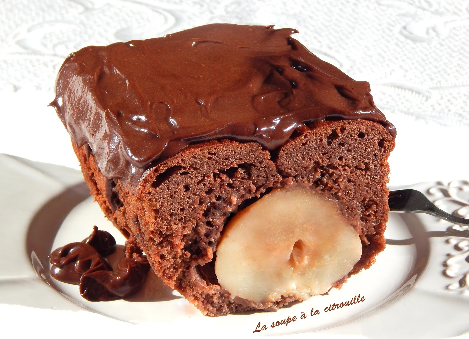 Cake Poire Entiere Chocolat