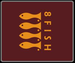 Makna Tersembunyi dari 40 Logo Terkenal di Dunia: Logo 8 Fish
