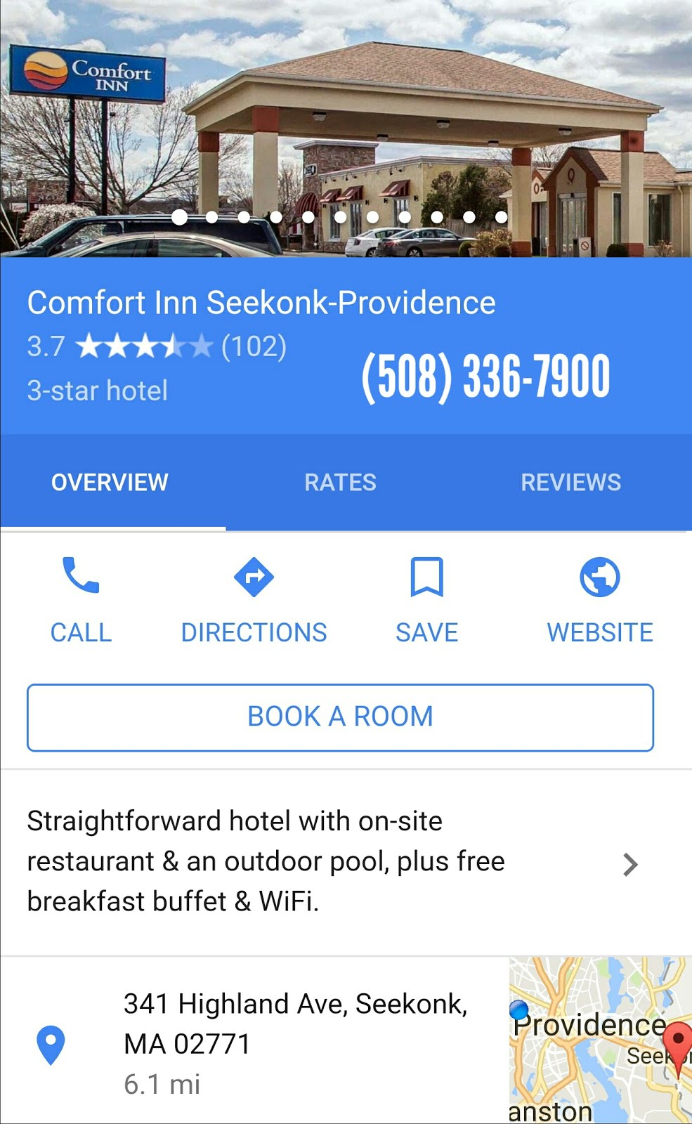 Comfort Inn Seekonk-Providence