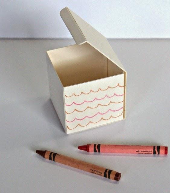 memesartplace glue dots blog hop turkey surprise box