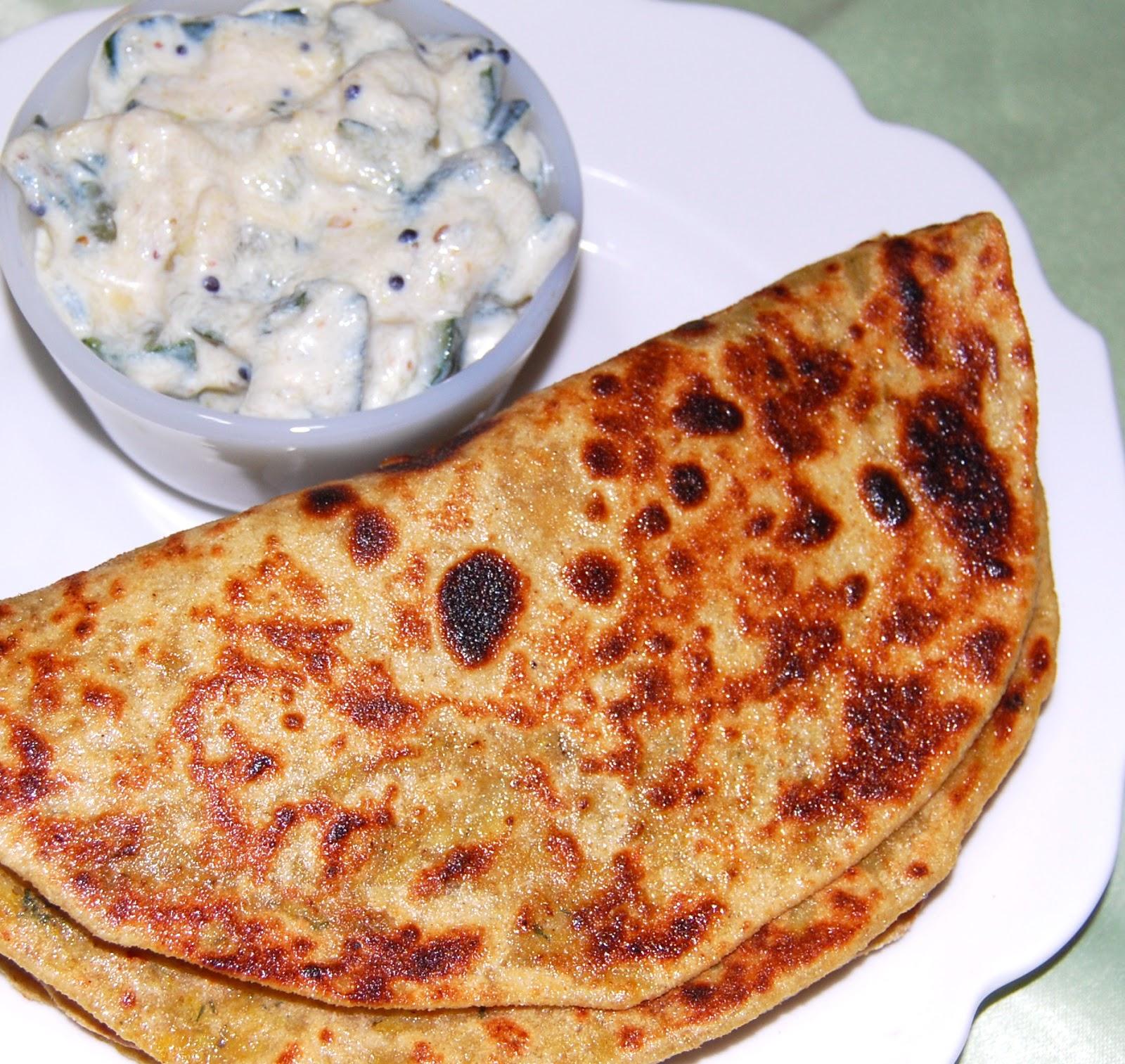 Gobi Paratha - Holy Cow! Vegan Recipes