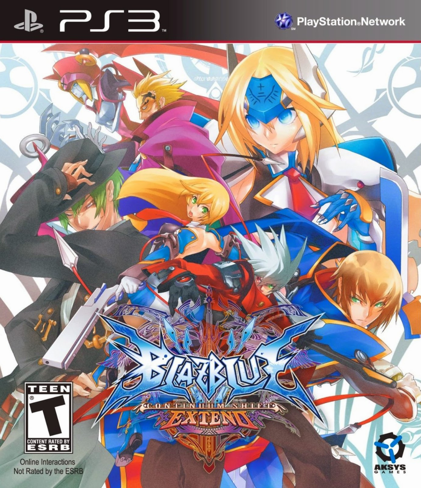 BlazBlue Continuum Shift EXTEND PS3