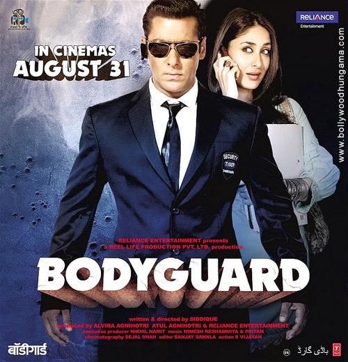 Bollywood Sheet Music September 2011: Devil's Club: BODYGUARD