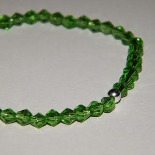 Bratara elastica verde