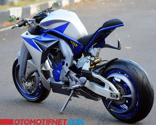 Foto Modifikasi Honda Tiger Revo