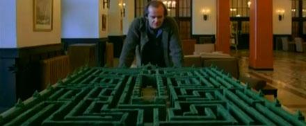 Jack Torrance overlook Hotel maze