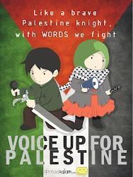 Save Palestine!! Allahuakhabar~