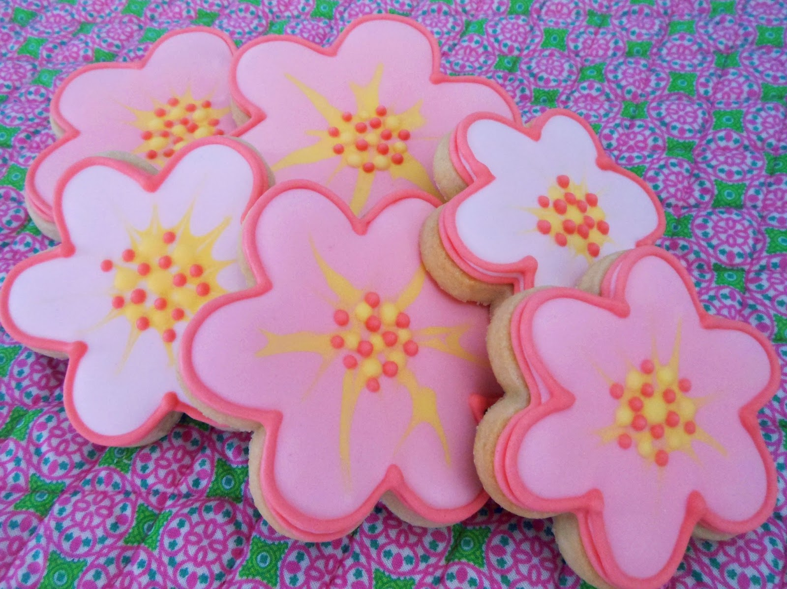 My Cookie Clinic Blossom Cookies Dotty Blossoms