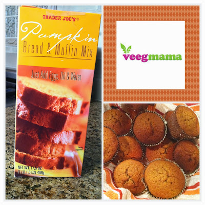 Semi Homemade pecan pecan muffins from VeegMama