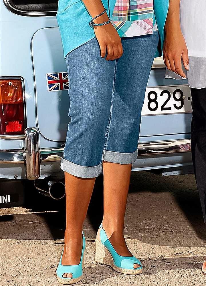 Как из джинсов сделать бриджи фото 774