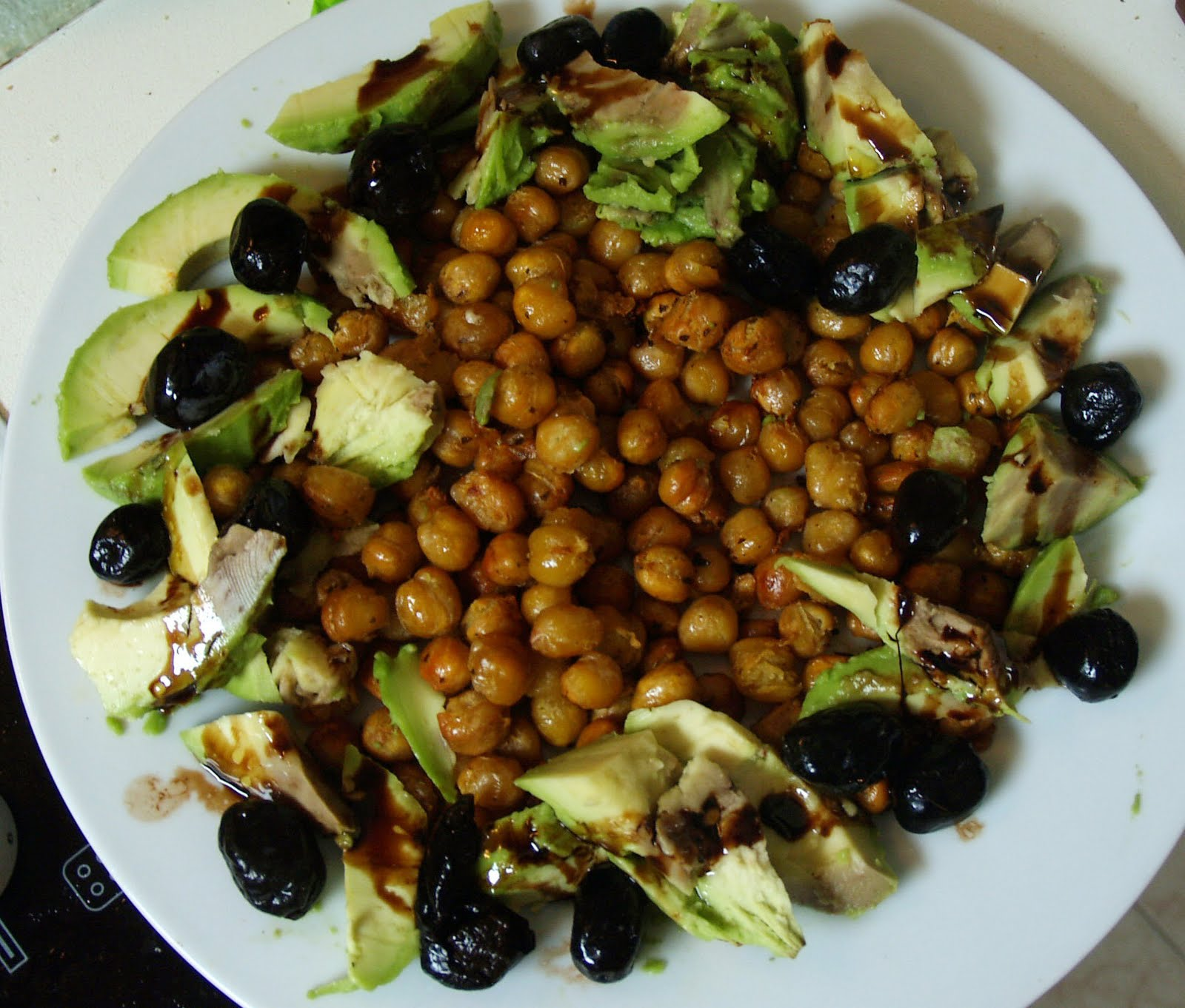 Comida para uno ensalada damasco ensalada de garbanzos - Ensalada de garbanzos light ...