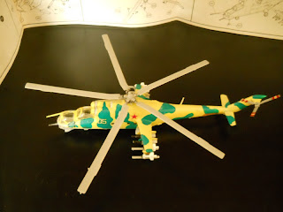 soviet helicopter Mil Mi-24 Hind-D by airfix