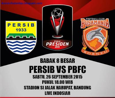 Persib vs Pusamania Borneo FC