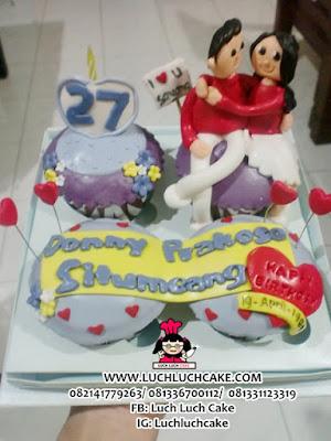 Cupcake Romantis Untuk Ulang Tahun Pacar